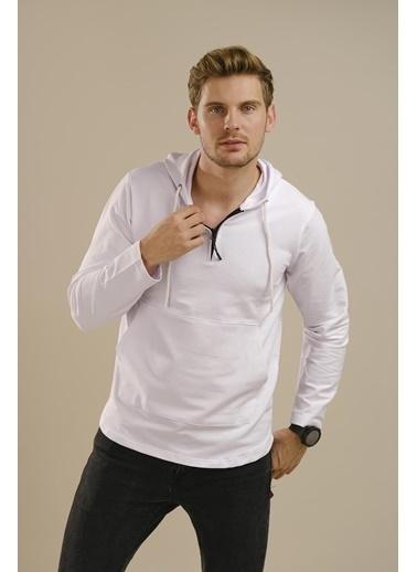 Oksit Sweatshirt Beyaz